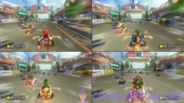 Mario Kart 8 dohazování s priateľmi