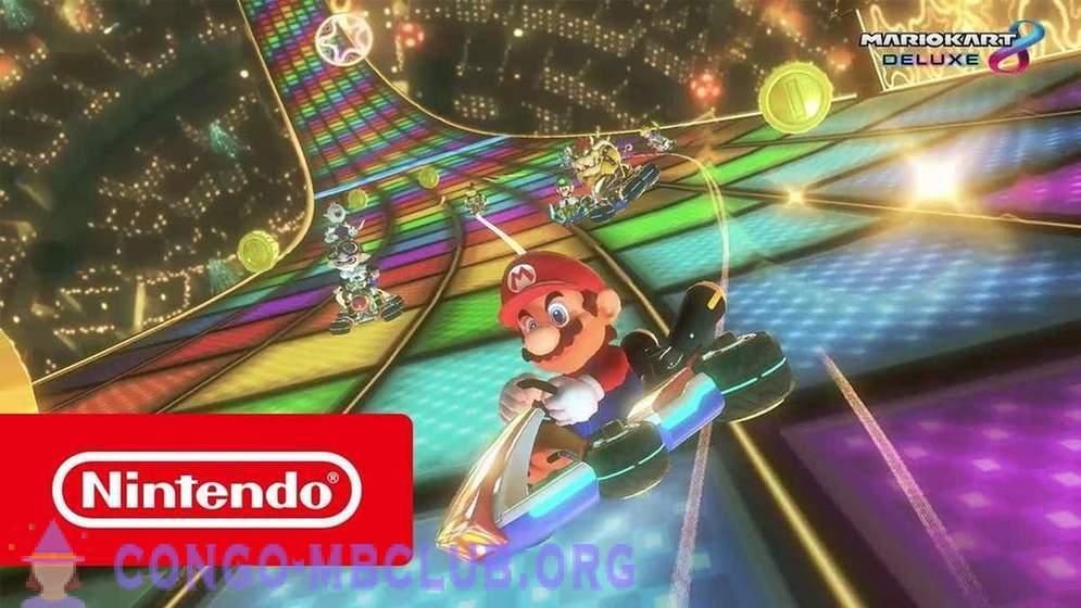 Mario Kart 8 dohazování